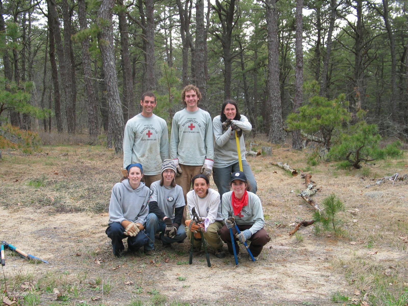 WCT summer 2005 Trail making