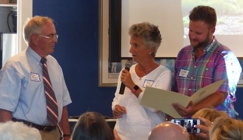 Commendation delivered by Representative Sarah Peake and Senator Julian Cyr