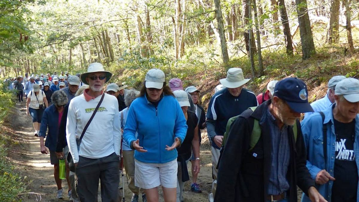 Exploring the North East                    Corner of Wellfleet on the                      11th Annual Guided Walk