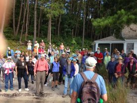 WCT Walk at Garrison Cottage