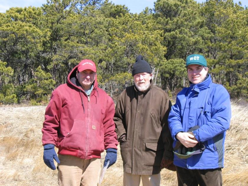 Gary Joseph and Robert Hankey, founding members, Adviser Mark Robinson